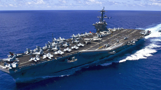 US aircraft carrier to conduct joint drill in South Korea