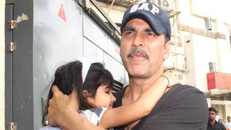 Akshay Kumar shares adorable video with his 'princess'