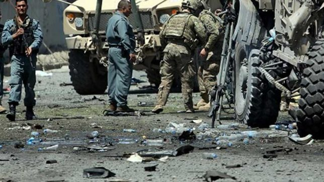 Afghanistan: Suicide bombing hits US base; 3 civilians injured