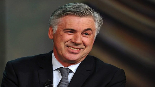 Coach Carlo Ancelotti facing an authority problem at Bayern Munich