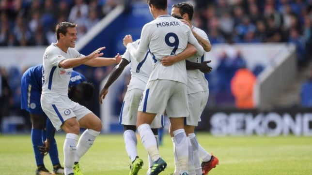 Premier League: Morata, Kante power Chelsea to a 2-1 victory over Leicester City