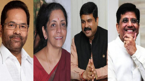 Modi team 2019: 4 BJP leaders including Piyush Goyal and Nirmala Sitharaman likely to be elevated