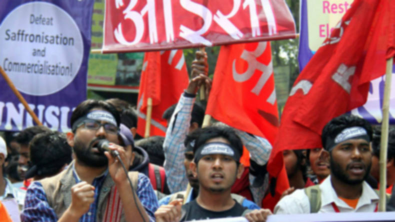 Left Alliance defeats ABVP in JNUSU Elections