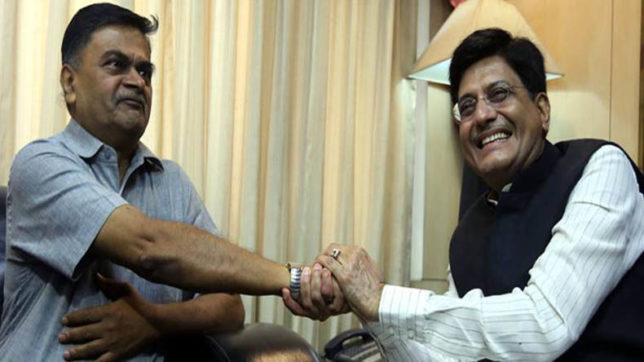Power Minister RK Singh says 'will continue Goyal's good work'