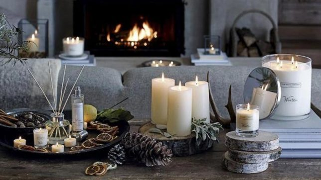 Scented candles, colourful cushions: Get your home festive ready