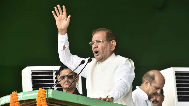 JD-U asks Sharad Yadav to join Lalu Prasad's RJD