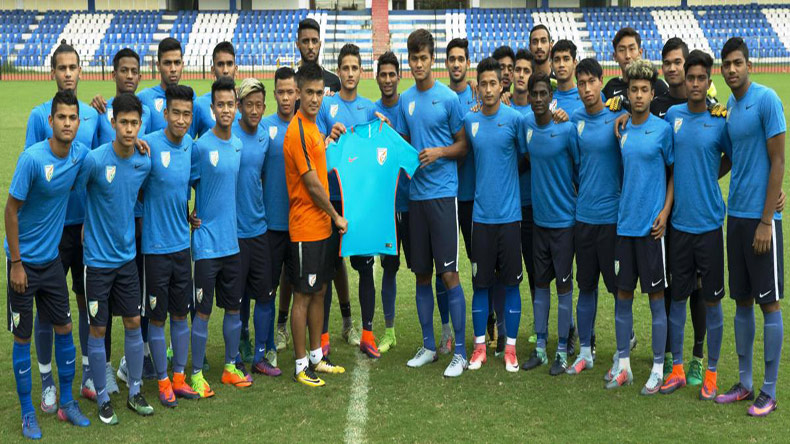 Give your best, Sunil Chhetri tells India U-17 boys as they prepare for their maiden World Cup