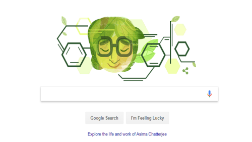 Google honours trailblazer Asima Chatterjee on birth centenary