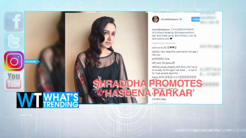 What's Trending: Rooney gets 2-year driving ban; Shraddha promotes 'Haseena Parkar'; & more