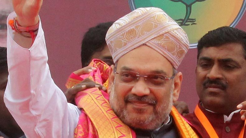 Amit Shah invokes 'fake' Gujarati pride after 'development gone crazy'