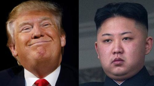 Donald Trump is a war merchant and strangler of peace North Korea
