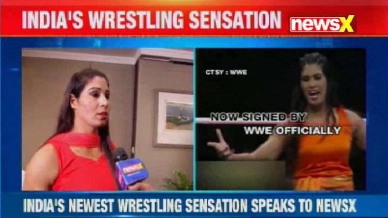 WWE signs Kavita Devi; first Indian woman to be in WWE rings speaks exclusively to NewsX