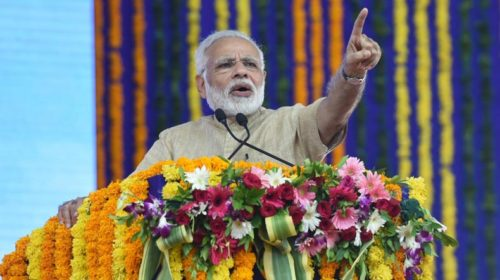 Watch: People snub PM Narendra Modi during his speech in Gujarat