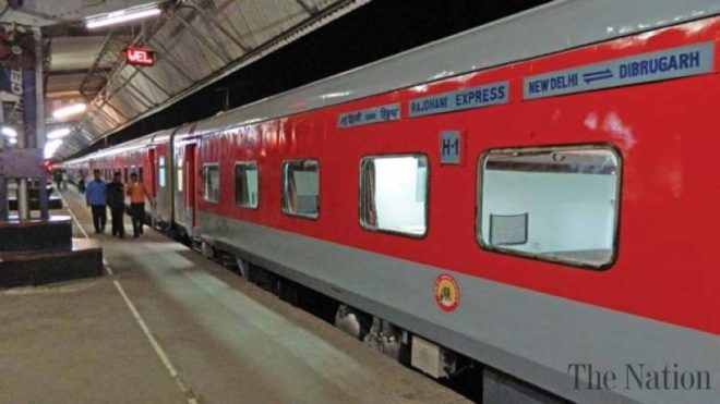 Delhi Rajdhani Express trip cut by 2 hours
