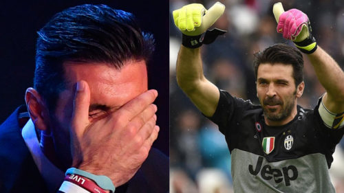 When-Juventus'-Gigi-Buffon-got-emotional-picking-up-FIFA-Best-Goalkeeper-of-the-Year