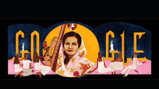 Google dedicates doodle to 'Mallika-e-Ghazal' Begum Akhtar on her 103rd birth anniversary