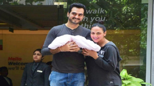 Esha Deol and Bharat Takhtani blessed with a baby girl; grandmother Hema Malini reveals newborn's name