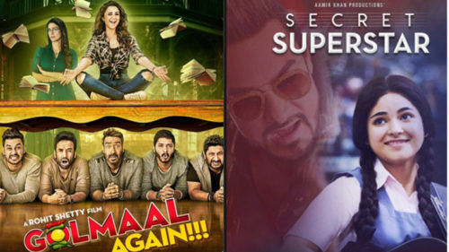 Aamir Khan's Secret Superstar and Ajay Devgn's Golmaal Again to clash this Diwali