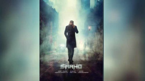 Prabhas shares his upcoming movie Saaho's first look on his birthday