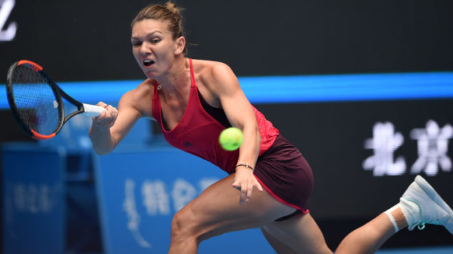 China Open: Simona Halep earns her maiden victory over Maria Sharapova