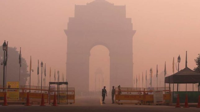 Air pollution in Delhi +