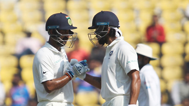 India vs Sri Lanka 2nd Test: Vijay, Pujara guide India to 97/1 on Day 2