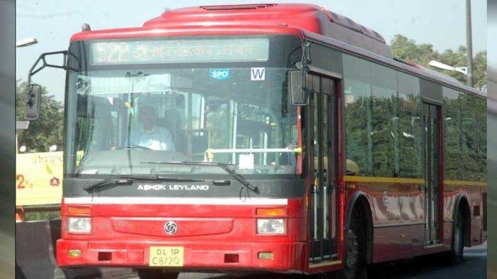 Delhi: 4 school students arrested for killing a man on DTC bus
