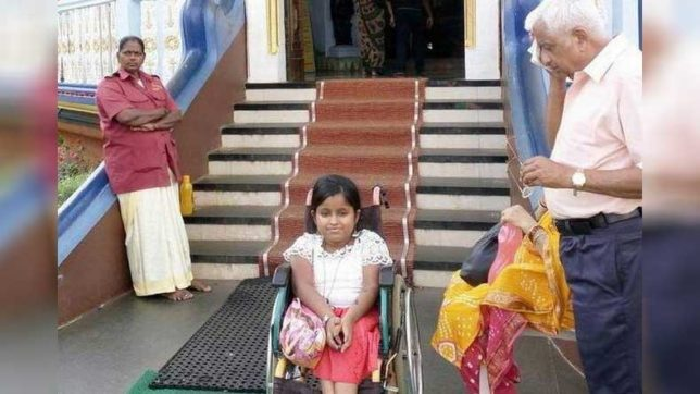 Handicapped-denied-access-in-temple