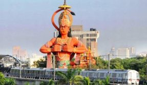 Delhi HC suggests airlifting 108-foot Hanuman statue in Karol Bagh to fix traffic
