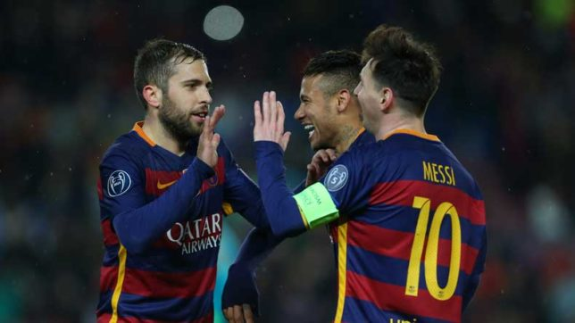 Here's why 'Neymar-less' Barcelona is better for Jordi Alba without the PSG star