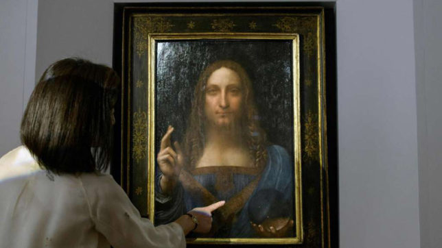 Leonardo da Vinci artwork sold for $450.3 mn by Christie's Auction House
