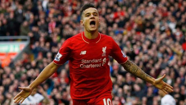 Philippe Coutinho waiting on Liverpool for January switch