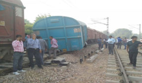 14 wagons of Goods train carrying coal derailed in Odisha