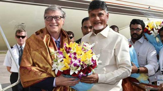 Bill Gates impressed by Andhra Pradesh government's utilisation of technology in developing agriculture