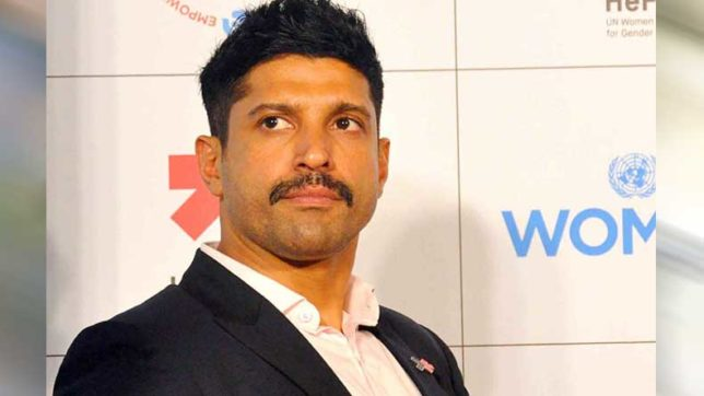 Bollywood actor Farhan Akhtar urges sexual harassment victims to open up
