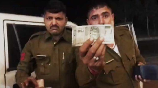Haryana: 2 drunk policemen skip bill at dhaba, get caught on cam