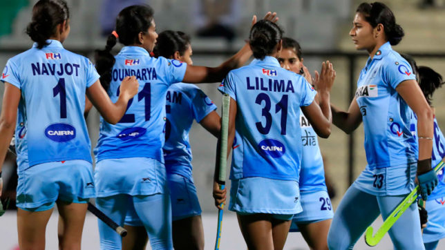 India stuns defending champion Japan