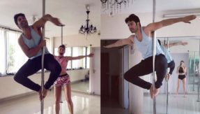 Jacqueline Fernandez helping Varun Dhawan pole dance is the Tuesday motivation you need
