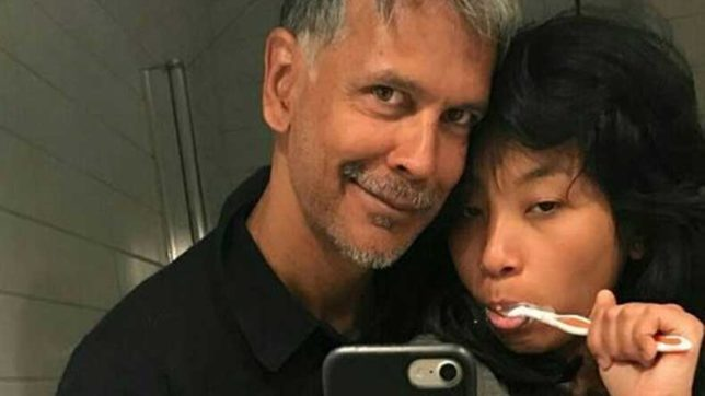 Milind Soman trolled on twitter for posting a picture with his 18 year old girlfriend