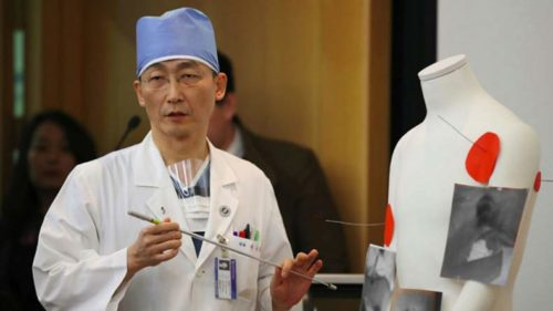 Surgeons find enormous parasites in North Korean soldier's intestines