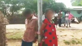 Odisha: Youth, married woman tied to pole and verbally abused for illicit relationship; fined Rs 5,000