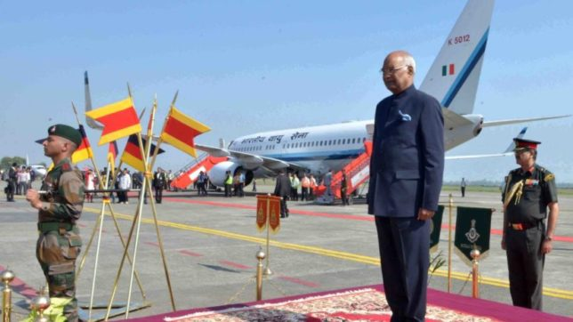 President Ram Nath Kovind underlines development of northeastern states
