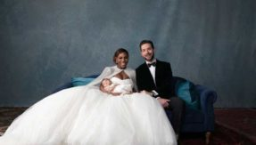 Serena Williams, Alexis Ohanian tie knot; share adorable wedding pictures