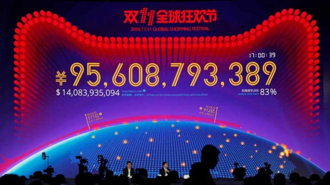 Global retailer Alibaba's Single Day Fest fetched $12 Billion in two hours
