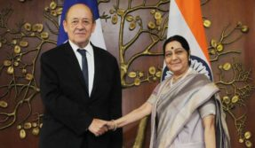 India and France hold bilateral talk on Indian Ocean region security