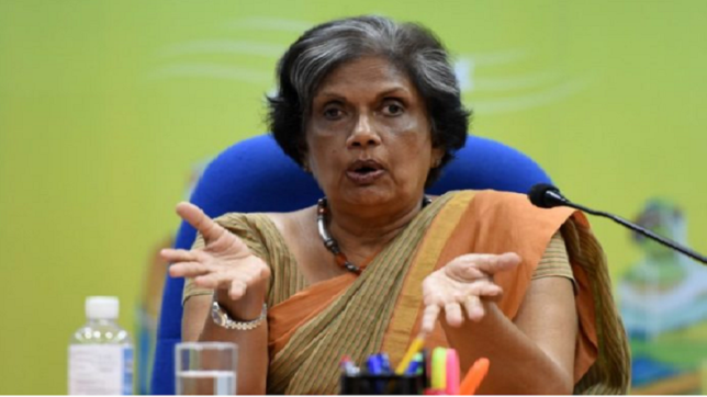 Former Sri Lankan President Chandrika Kumaratunga says identity of a dominant group is not identity of a nation