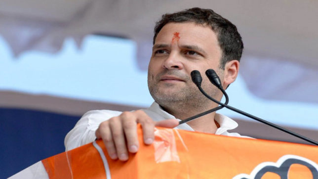 Rahul Gandhi says his plan is to transform Congress bottom upwards