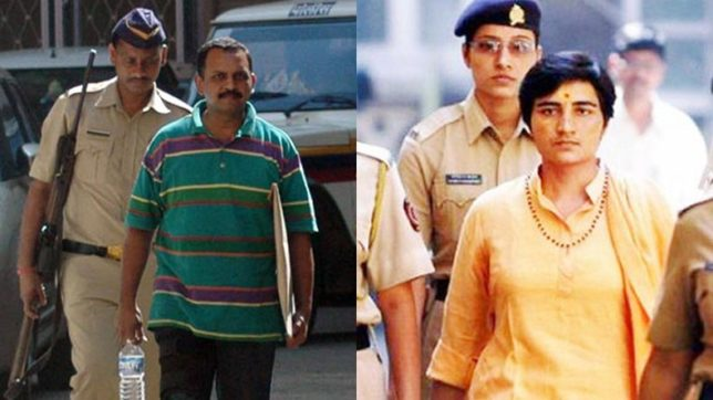 Malegaon blast case: MCOCA charges against Sadhvi Pragya, Lt Colonel Purohit dropped