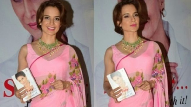 Kangana Ranaut expresses her desire to write a book