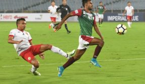 I-League: 10-man Mohun Bagan settles for 1-1 draw against Shillong Lajong
